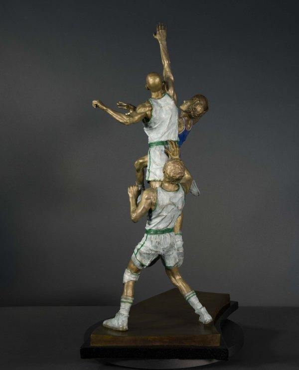 Basketball Sculpture - Hangtime Stravitz