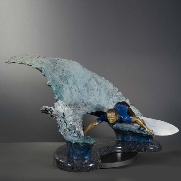 Carving Wave - Stravitz Sculpture & Fine Art
