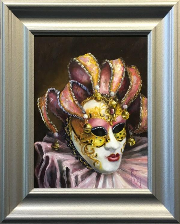 Pink Harlequin Ii - Stravitz Sculpture & Fine Art