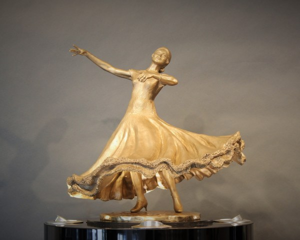 Dance Of Elegance Solo - Stravitz Sculpture & Fine Art