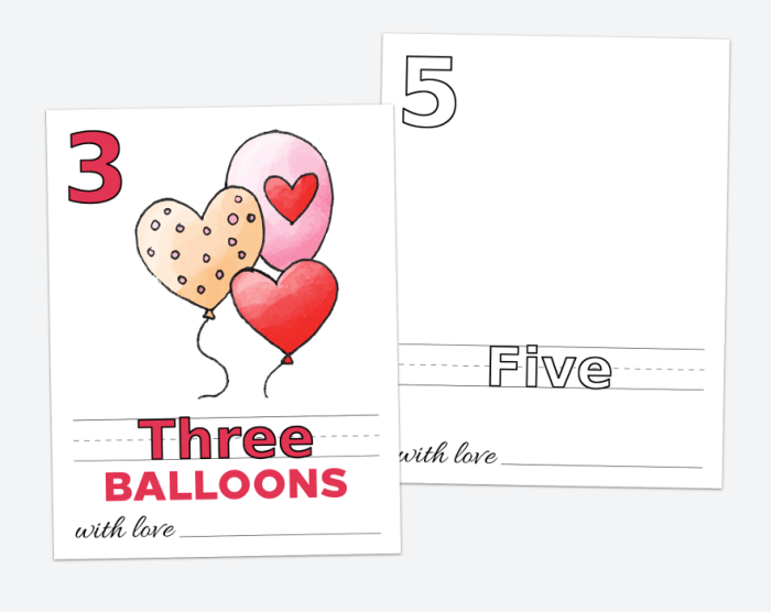 Baby's First 123 Book, Blank Version, Draw Your Own, Baby Shower Activity, Printable File