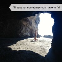 Sirsasana - Sometimes you just have to fall