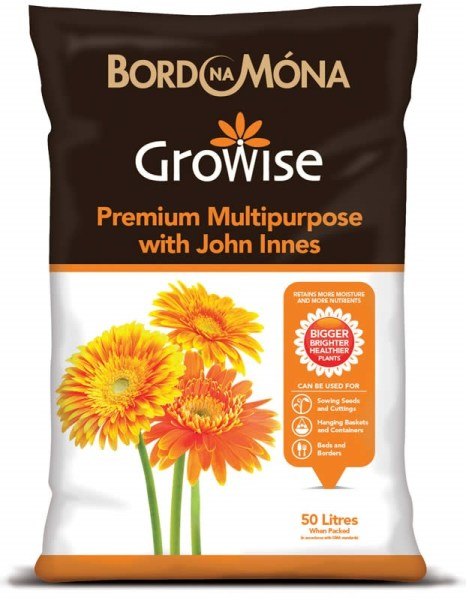Growise multi-purpose compost with John Innes available from strawberry garden centre uttoxeter