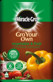Miracle-Gro Gro Your Own Fruit-Veg 50L available from Strawberry Garden Centre, Uttoxeter