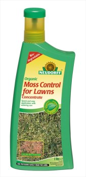 Neudorff Organic_Moss_Control_for_Lawns_1L_available from Strawberry Garden Centre Uttoxeter