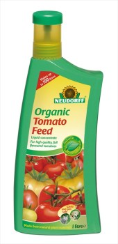 Neudorff Organic_Tomato_Feed_1ltr available from Strawberry Garden Centre Uttoxeter