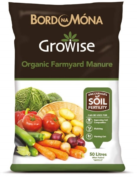 growise-organic-farmyard-manure available from Strawberry Garden Centre, Uttoxeter