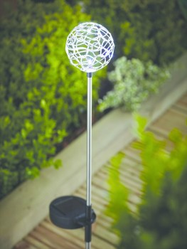 Cole & Bright 18620 Solar Wire Stake Light available from Strawberry Garden Centre, Uttoxeter