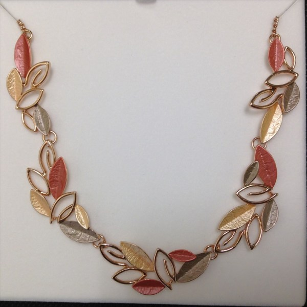 Equilibrium Russet Tones Necklace 69455 available from Strawberry Garden Centre, Uttoxeter