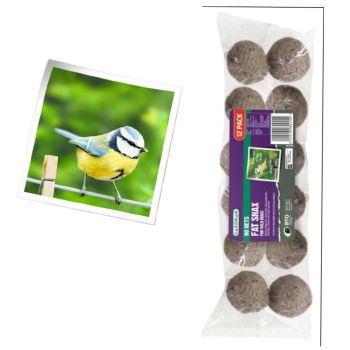 Gardman A04282 no nets fat snax 12 pack available from Strawberry Garden Centre, Uttoxeter