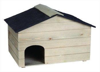 Gardman AE60012 Wooden Hedgehog House available from Strawberry Garden Centre, Uttoxeter
