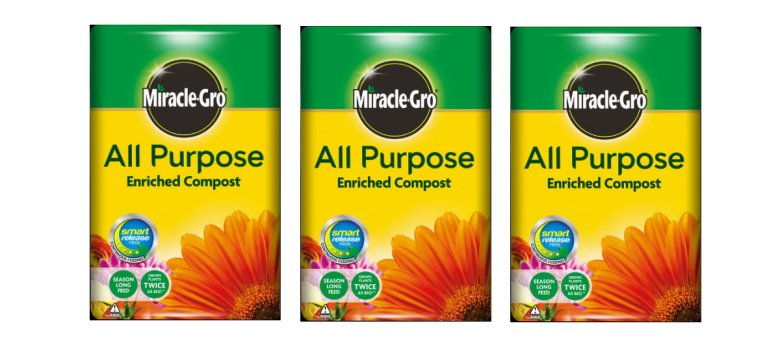 Miracle Gro All Purpose Compost offer available from Strawberry Garden Centre, Uttoxeter