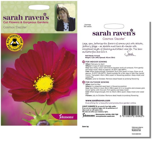 sarah-raven-cosmos-dazzler-available-from-strawberry-garden-centre-uttoxeter