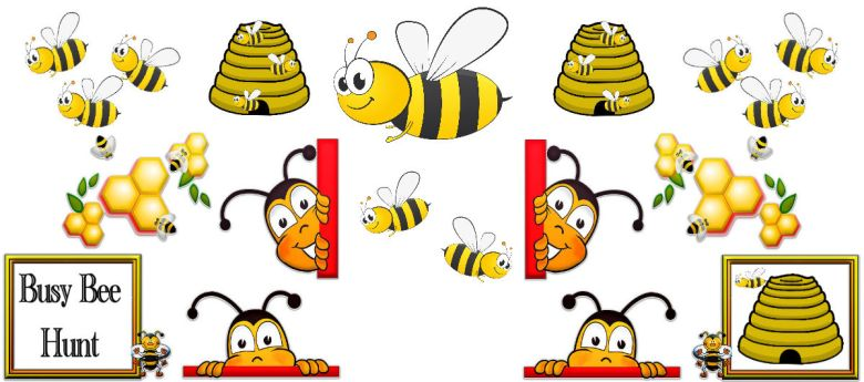 bee hunt competition at strawberry garden centre, utoxeter