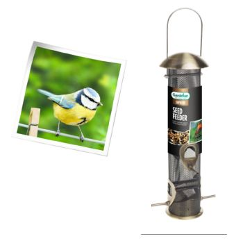 Gardman A01914 Supreme Seed Feeder available from Strawberry Garden centre, Uttoxeter