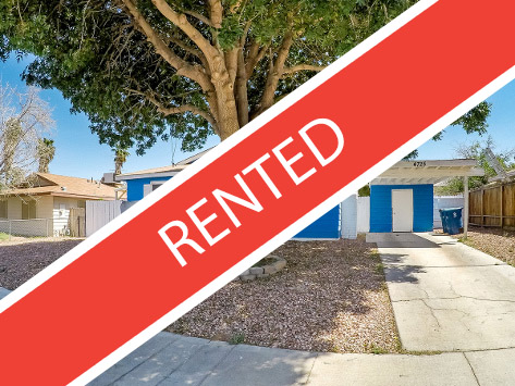 Rented by Strawberry Property Management in Las Vegas NV