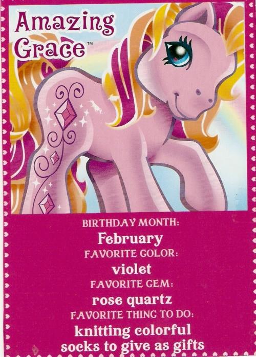 G3 My Little Pony  Amazing Grace