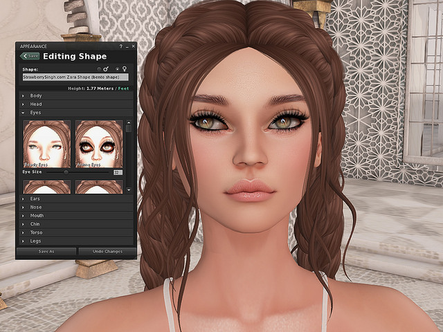 Project Bento Mesh Head Preview From Akeruka Strawberrysinghcom