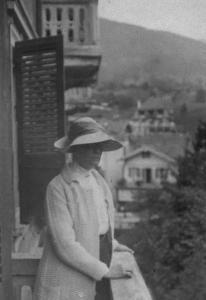 Alice Strawbridge in Zermatt, Switzerland