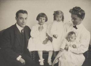 Dr Joseph Sailer with Family