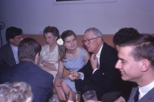J. Montgomery Deaver at Bill White Wedding Party