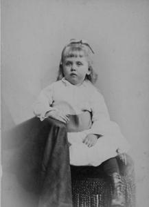 Mary Lowber Strawbridge Age Two and a Half