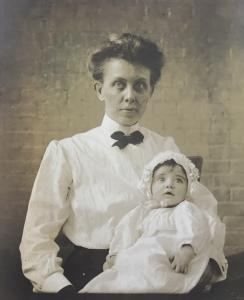 Mary Sailer with Daughter Priscilla