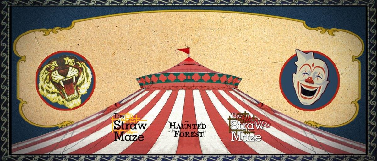 Rexburg Idaho Straw Maze Banner