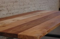 Reclaimed Elm Conference Table | 100 Mile Table | moss Design
