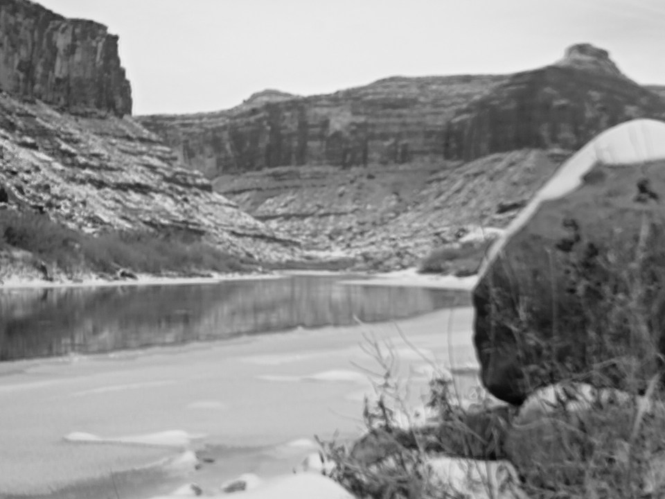Winter Lomography in Moab