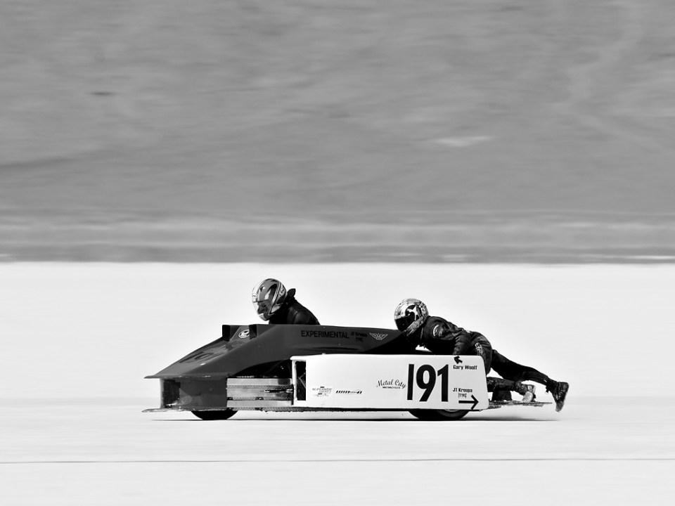 Bonneville Salt Flats Land Speed Racing