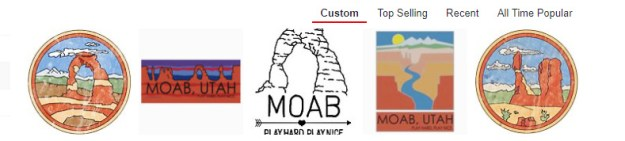 Cool Moab Artwork