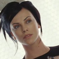 Charlize Theron Aeon Flux Movie Hairstyle