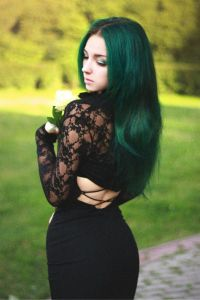 Green Hair  StrayHair