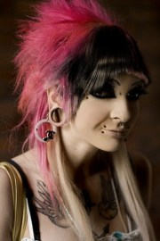scene hairstyles strayhair