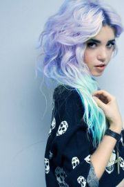 daily hair spotting lavender