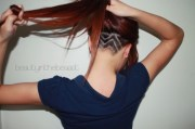 nape undercut hairstyle design