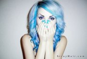 awesome blue hairstyles color