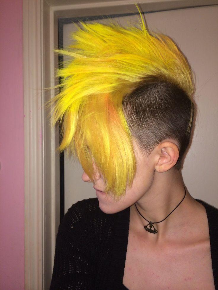 Bright Yellow Hair 7 Unique Color Inspiration Photos