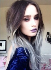 gray hair color inspiration