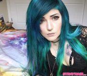 amazing aurora borealis hair color
