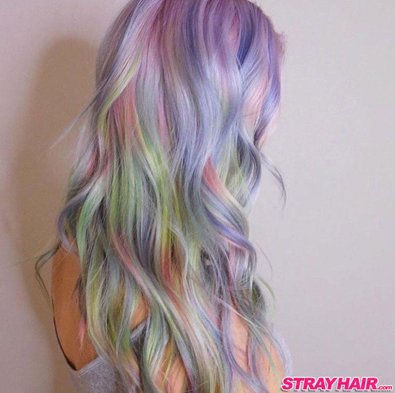 Fluid Hair Painting StrayHair