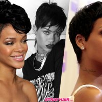 Rihannas Many Great Short Hairstyles