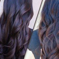 Beautiful Chocolate and Caramel Balayage Hair