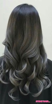 gorgeous gunmetal gray hair strayhair