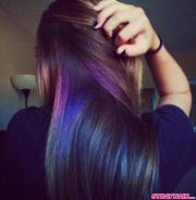 oil slick hair color of