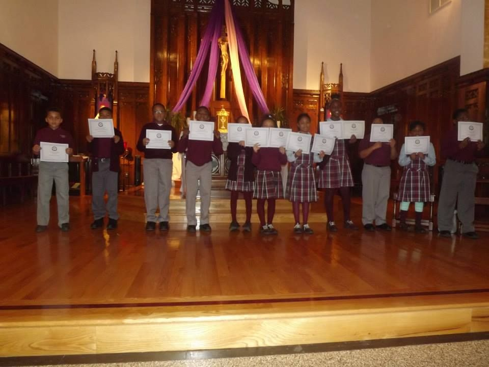 First Trimester Report Card Awards Assembly December 17