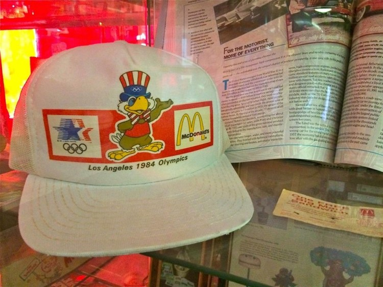 I actually had this hat in 1984.