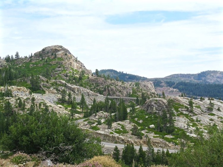 From here you can look across to the rugged cliffs that the infamous Donner Party desperately struggled to surpass, and that lesser known Stevens/Townsend/Murphy Party successfully pioneered two years earlier.