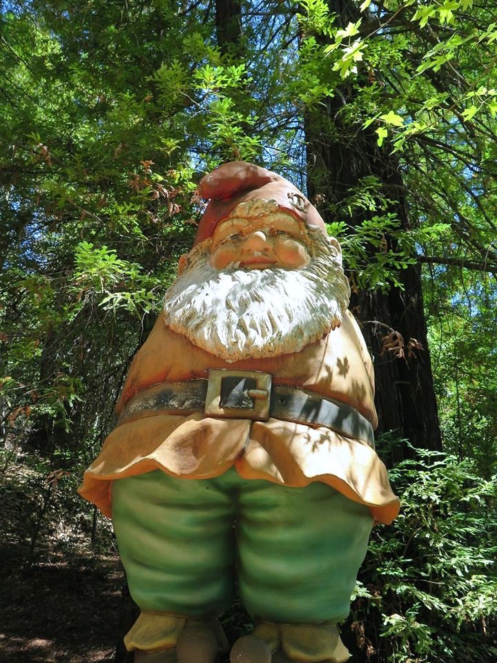 ...a giant gnome...